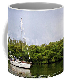 On Quiet Waters Coffee Mug