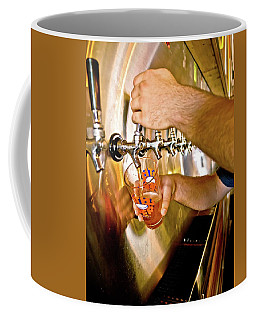 Coffee Mug featuring the photograph On Tap by Linda Unger