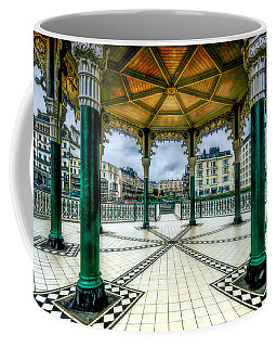 Coffee Mug featuring the photograph On The Bandstand by Chris Lord