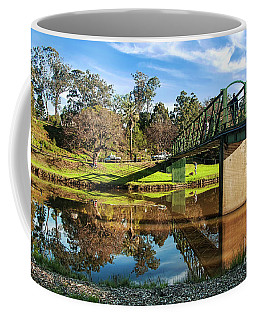 Coffee Mug featuring the photograph On The Banks Of The River By Kaye Menner by Kaye Menner