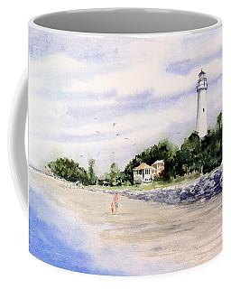 On The Beach At St. Simon's Island Coffee Mug