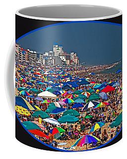 On The Beach In August Coffee Mug