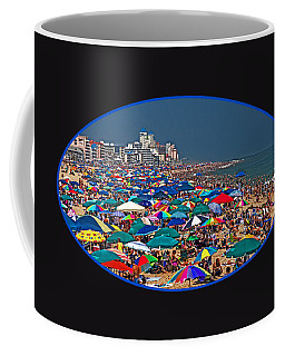 On The Beach In August Coffee Mug
