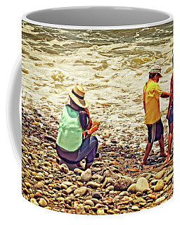 On The Beach - Lima Coffee Mug