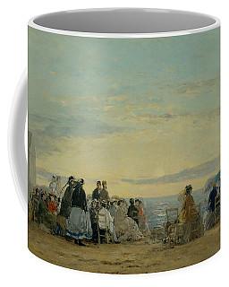 On The Beach, Sunset Coffee Mug