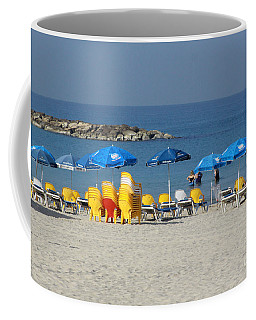 On The Beach-tel Aviv Coffee Mug