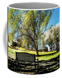 On The Bench Coffee Mug