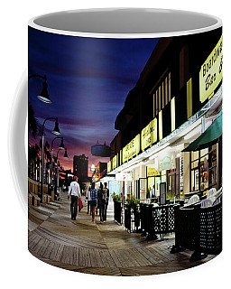 On The Boardwalk Coffee Mug