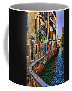 On The Canal-venice Coffee Mug