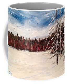 On The Edge Of The Clearing Coffee Mug
