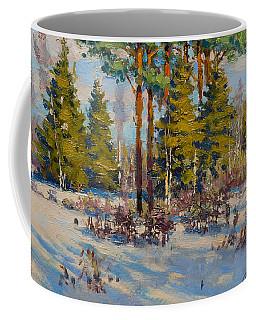 On The Edge Of Winter Coffee Mug