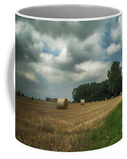On The Field Before Rain Coffee Mug by Michelle Meenawong