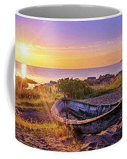Coffee Mug featuring the photograph On The Last Shore by Dmytro Korol