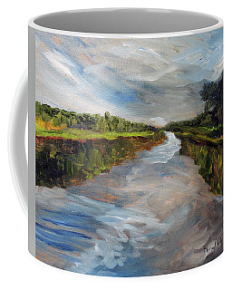 On The Mashpee River Coffee Mug