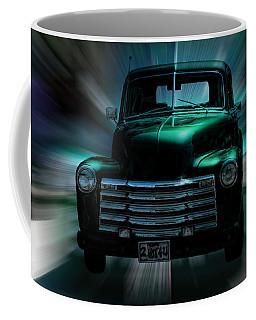 On The Move Truck Art Coffee Mug