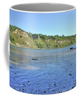 On The North Saskatchewan River Coffee Mug