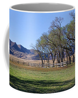 Coffee Mug featuring the photograph On The Ranch by Ely Arsha