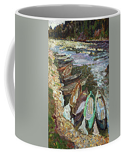 On The River Chusovaya Coffee Mug
