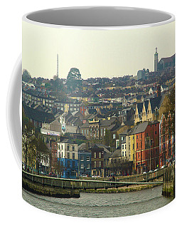 Coffee Mug featuring the photograph On The River Lee, Cork Ireland by Marie Leslie