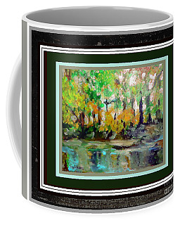 Coffee Mug featuring the photograph On The Riverbank II by Shirley Moravec