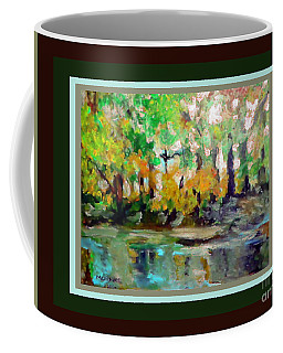 On The Riverbank Coffee Mug