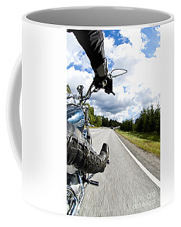 On The Road Coffee Mug by Micah May