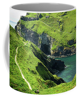 On The Road To Tintagel Coffee Mug by Connie Handscomb