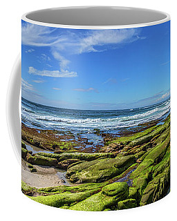 Coffee Mug featuring the photograph On The Rocky Coast by Peter Tellone