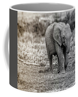 On The Run Coffee Mug by Karen Lewis