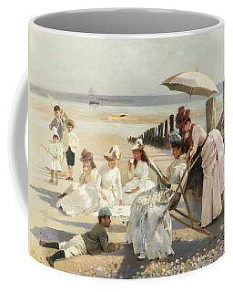 On The Shores Of Bognor Regis Coffee Mug