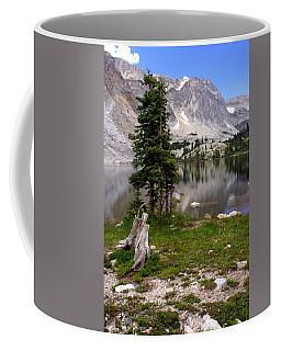 On The Snowy Mountain Loop Coffee Mug