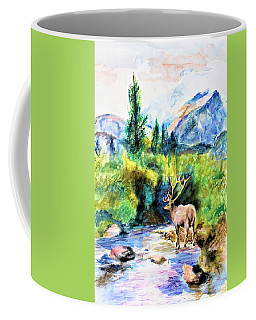 On The Stream Coffee Mug