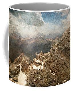 On The Top Of The Mountain  Coffee Mug