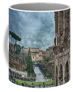 On The Trail Of The Old Romans Coffee Mug