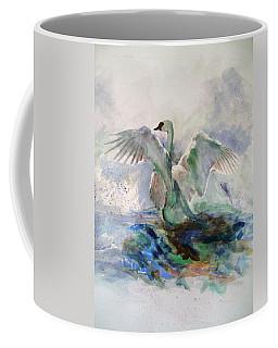 On The Water Coffee Mug by Khalid Saeed