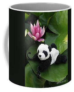 Coffee Mug featuring the photograph On The Waterlily by Ausra Huntington nee Paulauskaite