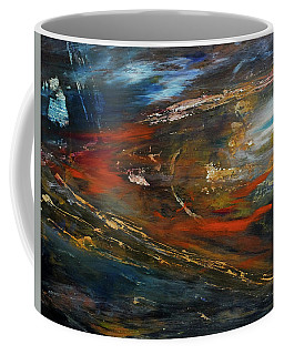 Coffee Mug featuring the digital art On The Way by John Hansen