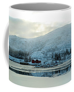 On My Way Through Lofoten 2 Coffee Mug by Dubi Roman