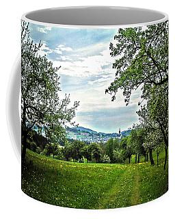 On The Way To Gramastetten ... Coffee Mug by Juergen Weiss