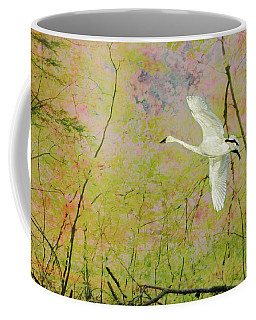 Coffee Mug featuring the photograph On The Wing by Belinda Greb
