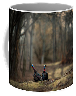 On The Woodlot Path Coffee Mug