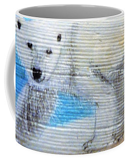 On Thin Ice Coffee Mug by Ann Michelle Swadener