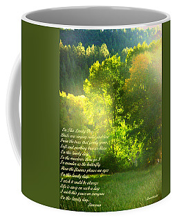 On This Lovely Day Coffee Mug by Anastasia Savage Ealy