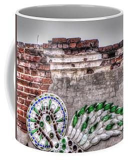 On Wall Coffee Mug by Yury Bashkin