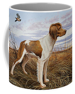 On Watch - Brittany Spaniel Coffee Mug