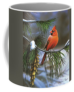 On Watch - Cardinal Coffee Mug