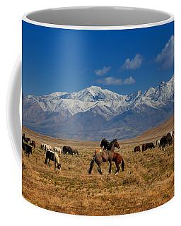 Onaqui Wild Horses Coffee Mug
