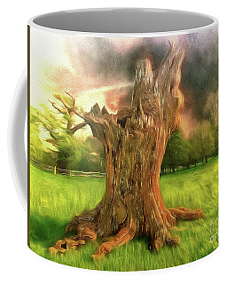 Coffee Mug featuring the photograph Once I Touched The Stars by Leigh Kemp
