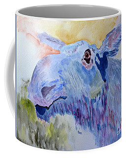 Once In A Blue Moose Coffee Mug