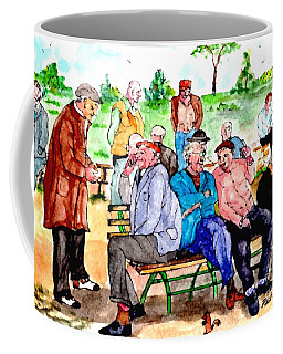 Once Upon A Park Bench Coffee Mug
